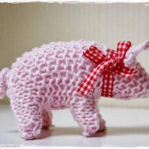 Glücksschwein stricken