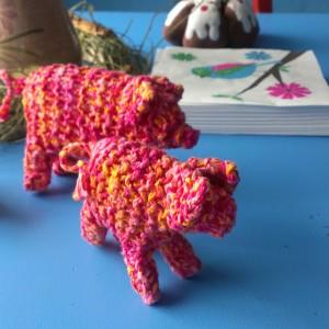Strickschwein – Multifunktional für Groß und Klein