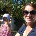 Das ist Guni mit ihrer Tochter Fine