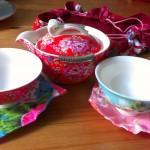 Gunis Reise-Tee-Set aus Taiwan