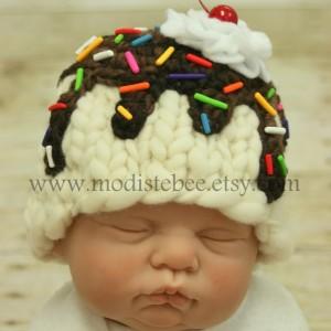 """Babymütze """"Cupcake"""" stricken"""