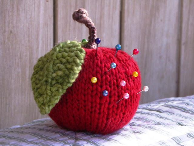 Apple Pincushion