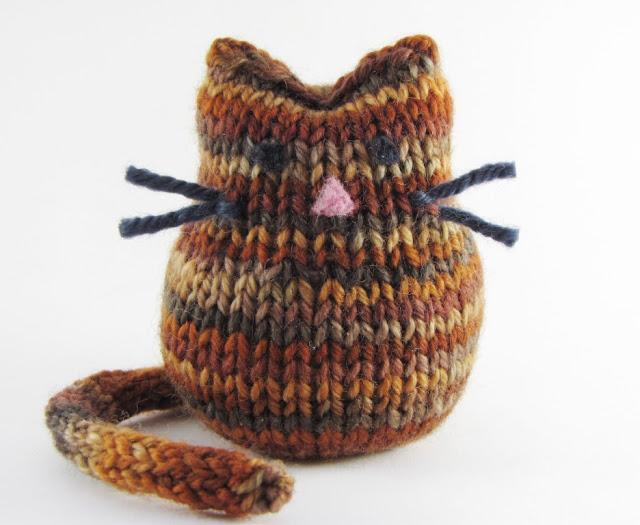 Schoenstrickende Smartphone Tasche Katze Häkeln