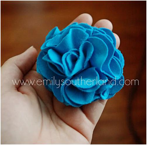 Schoenstricken De Diy Blume Aus Einem Alten T Shirt Basteln