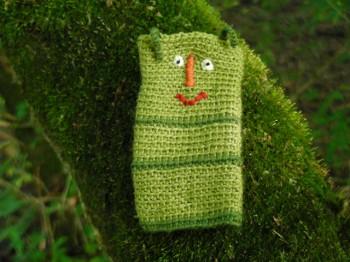 Grüner Wurm