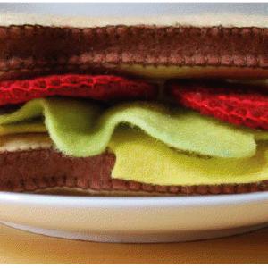 diy / Sandwich aus Filz