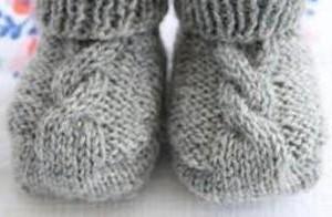 Schoenstrickende Anleitung Baby Chucks Häkeln