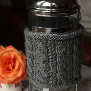 Kaffeekannen-Wärmer gestrickt