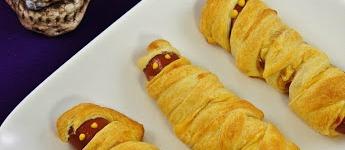 Halloween Mumien Hotdogs
