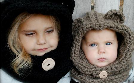 Schoenstrickende Kindermütze