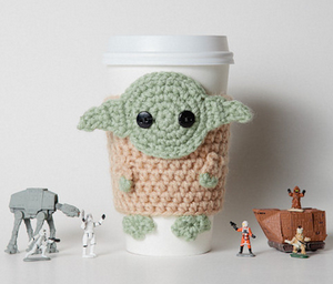 Schoenstrickende Häkel Jedimeister Yoda