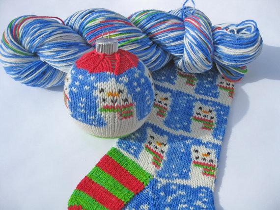 schoenstricken.de | Weihnachtssocken stricken
