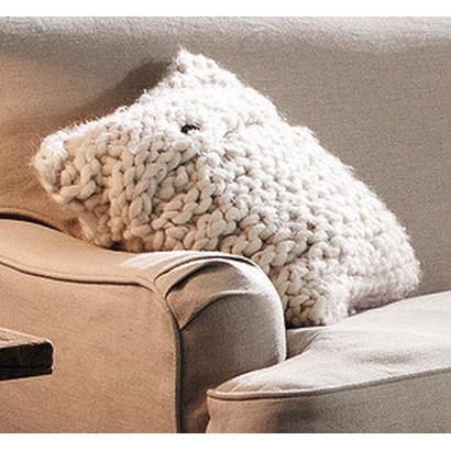 kissen aus dicker wolle. Black Bedroom Furniture Sets. Home Design Ideas