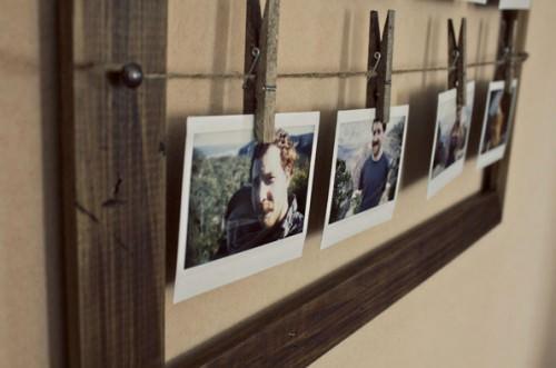 Diy fotorahmen basteln - Mitarbeiter fotowand ...