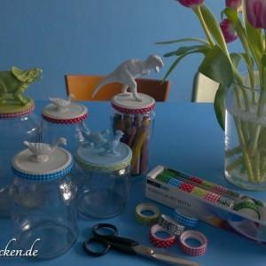 diy / Vom Konservenglas zur hübschen Aufbewahrung