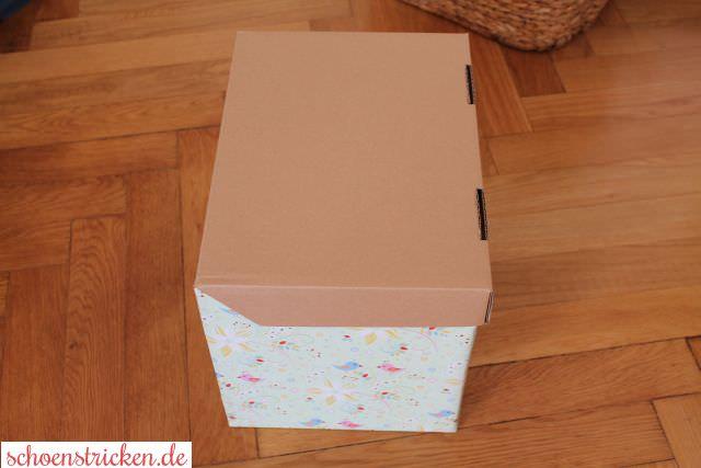 DIY Bunte Ordnungs-Boxen basteln