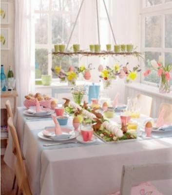 Ostern Tisch Dekoration