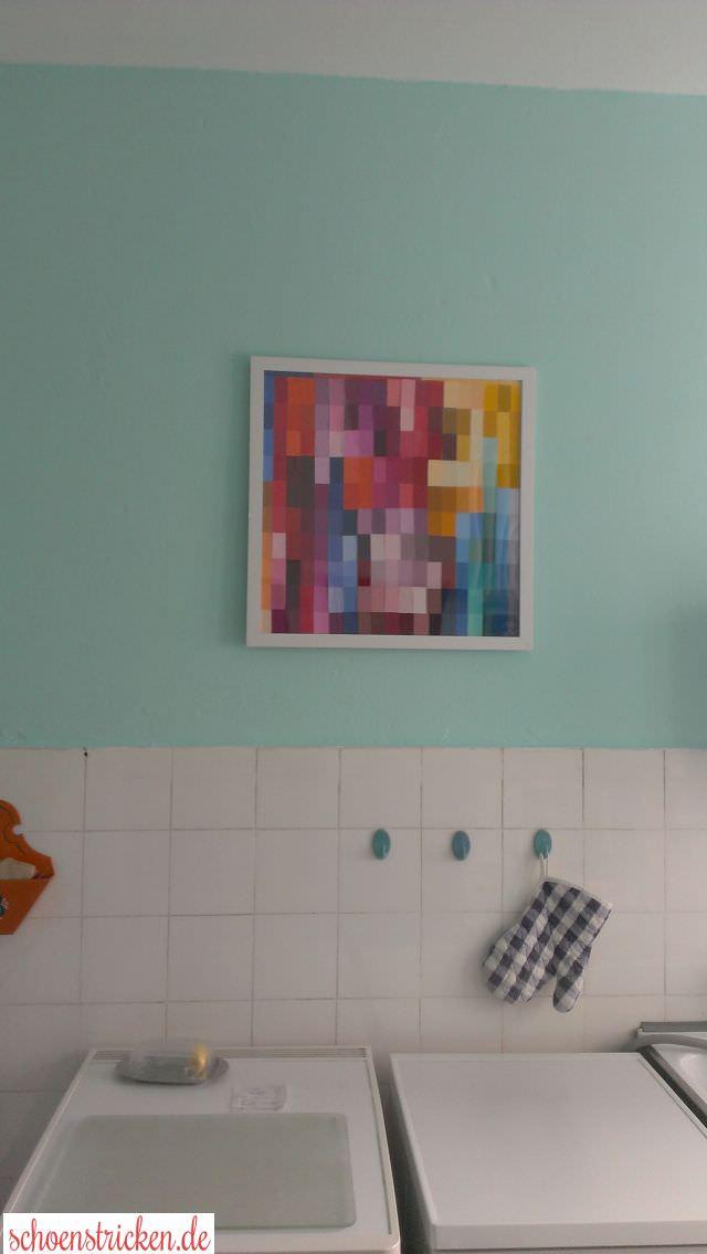 Bild aus Farbkarten basteln - schoenstricken.de