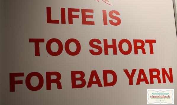 Life is too short for bad yarn - schoenstricken.de