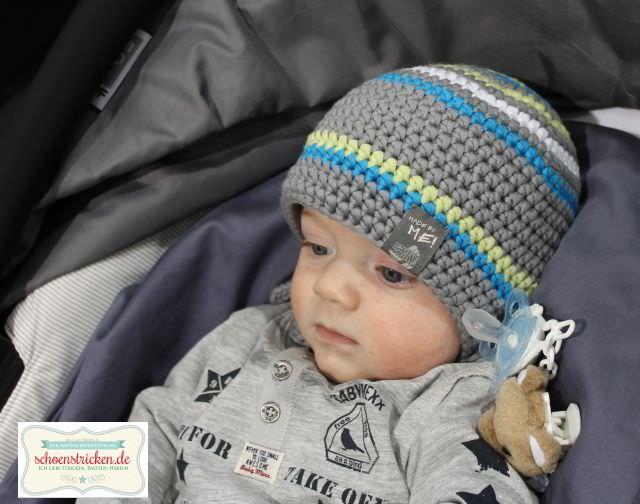 Baby Häkelbeanies - schoenstricken.de