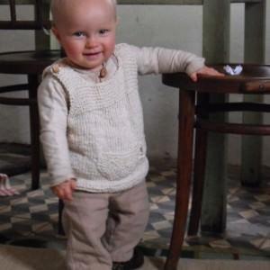 Süße und einfache Babyweste stricken