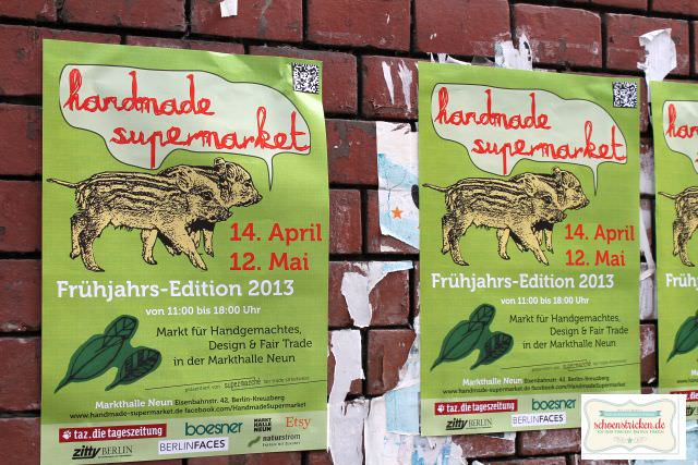 Handmade Supermarket in Berlin - schoenstricken.de