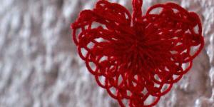 Schoenstrickende Herz Häkeln Und Stricken Zum Valentinstag