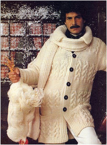 Was stricken Männer? Gast-Blogger, male knitting  - schoenstricken.de