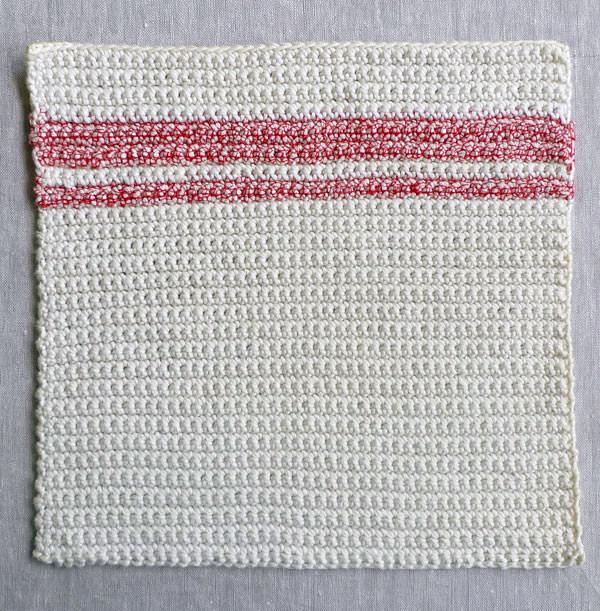 Schoenstrickende Häkelanleitung Einfache Waschlappen Häkeln