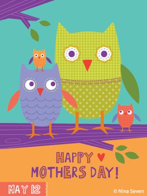 Muttertag: Grußkarten kostenlos Download - schoenstricken.de