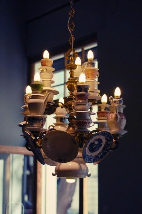 Upcycling: Teetassen als Lampenschirm - schoenstricken.de