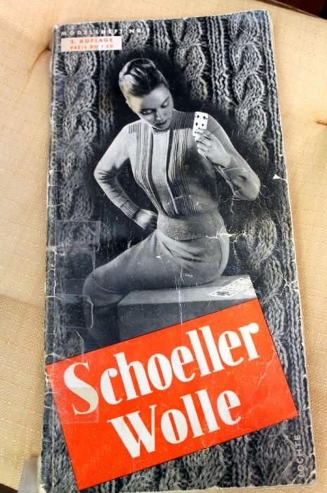 Altes Strickbuch - schoenstricken.de