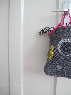Schoenstrickende Häkelanleitung Für Ein Retro Einkaufsnetz