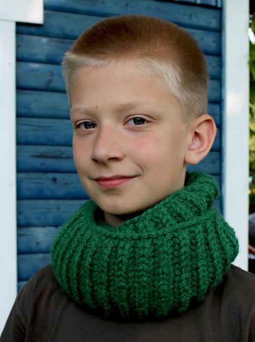 DIY Strickkit Kids Loop Herrlich - schoenstricken.de