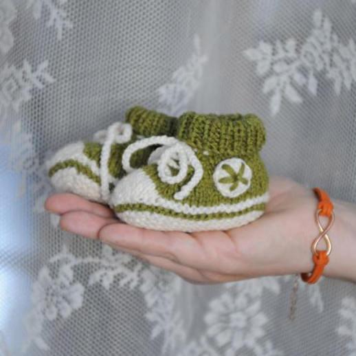 DIY Strickkit Babysneaker - schoenstricken.de