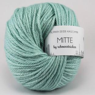 Babyalpaka Seide Kaschmirwolle MITTE by schoenstricken mint