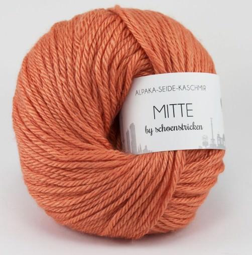 Babyalpaka Seide Kaschmirwolle MITTE by schoenstricken mandarin
