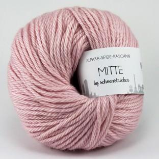 Babyalpaka Seide Kaschmirwolle MITTE by schoenstricken rosa