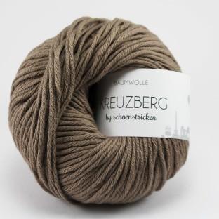 Baumwolle KREUZBERG by schoenstricken taupe