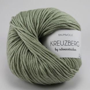 Baumwolle KREUZBERG by schoenstricken steingrau