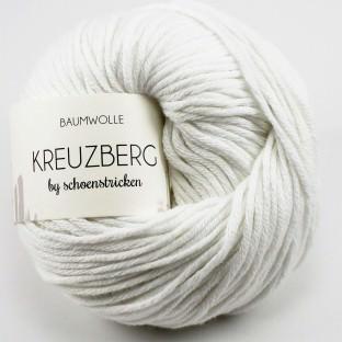 Baumwolle Kreuzberg Farbe weiss - schoenstricken.de