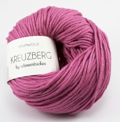 Baumwolle Kreuzberg Farbe Zyklam - schoenstricken.de