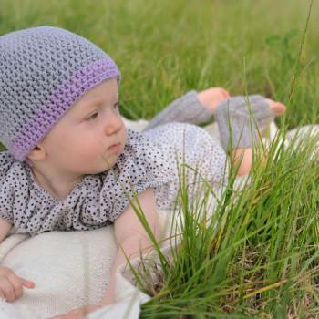 DIY Häkelset Baby Beanie - schoenstricken.de