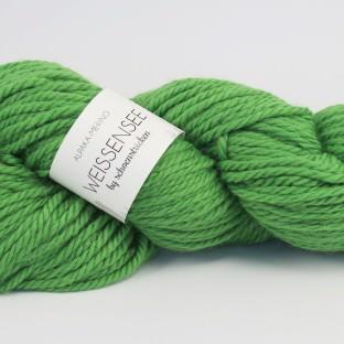 """Alpaka-Merinowolle WEISSENSEE in Farbe """"hellgrün"""" by schoenstricken.de"""
