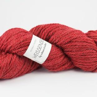 """Merino-Alpakawolle WEISSENSEE Farbe """"koralle"""" by schoenstricken.de"""