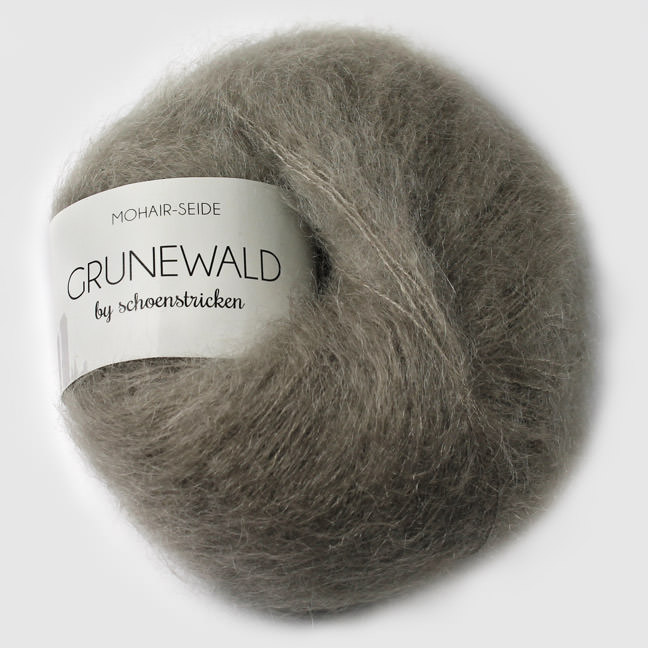 schoenstricken Wolle Grunewald 23 silbergrau