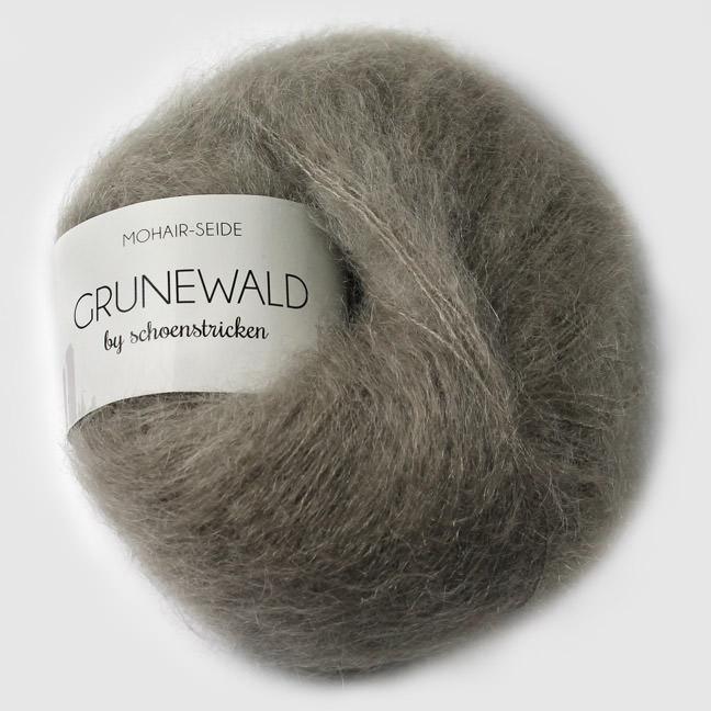 schoenstricken Wolle Grunewald 23 silbergrau
