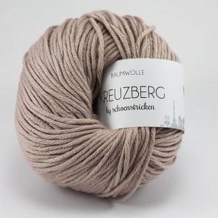Baumwolle KREUZBERG by schoenstricken HELLES ROSENHOLZ