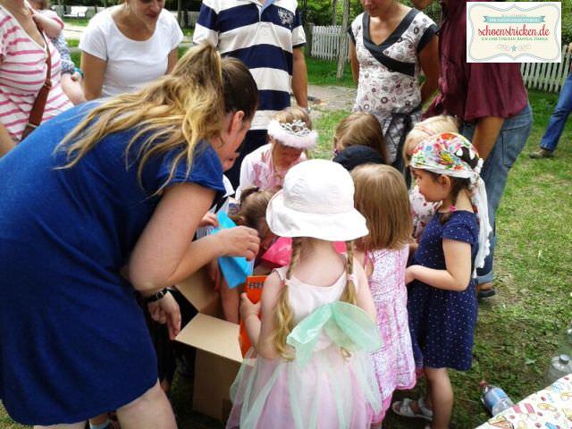 Kindergeburtstag im Park - schoenstricken.de