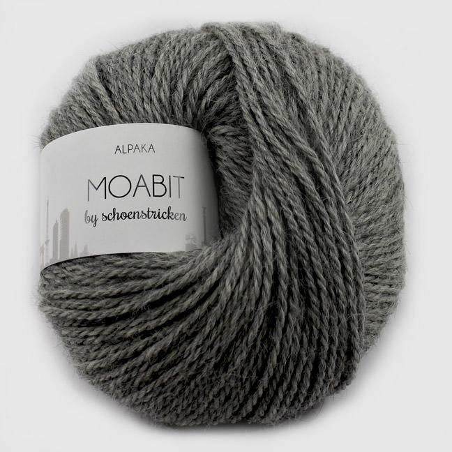 schoenstricken Wolle Moabit 123 Hellgrau